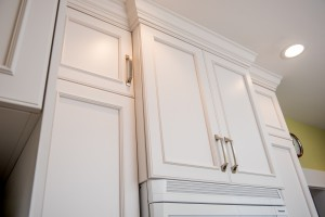 kitchen staggered depth upper cabinets